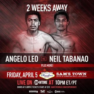 Angelo Leo vs Neil John Tabanao