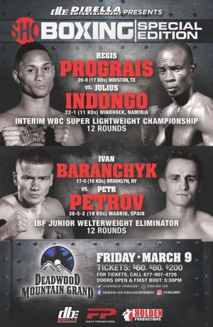 Regis Prograis vs Julius Indongo
