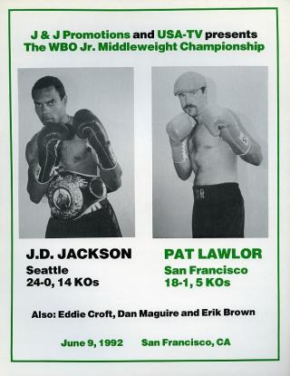 John David Jackson vs Pat Lawlor