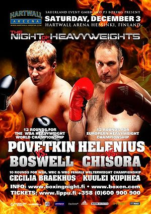 Robert Helenius vs. Dereck Chisora