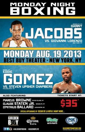 Danny Jacobs vs Giovanni Lorenzo