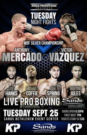 Anthony Mercado vs Victor Vazquez