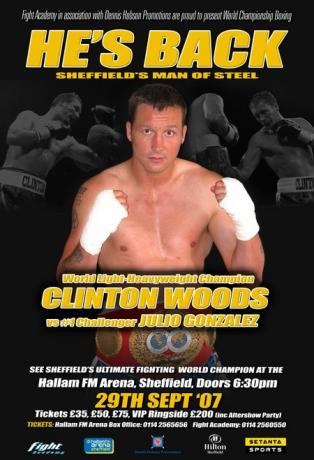Clinton Woods vs Julio Gonzalez II