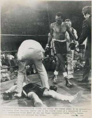 Bob Foster vs Mike Quarry