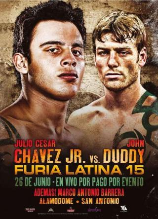 Julio Cesar Chavez Jr. vs John Duddy