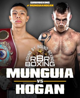 Jaime Munguia vs Dennis Hogan