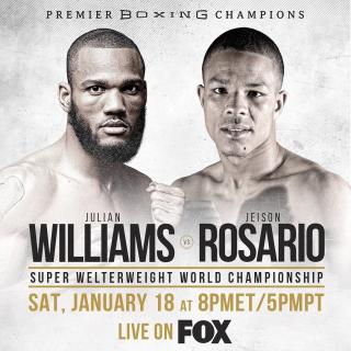 Julian Williams vs Jeison Rosario