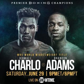 Jermall Charlo vs Brandon Adams