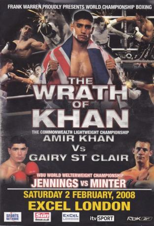 Amir Khan vs Gairy St Clair