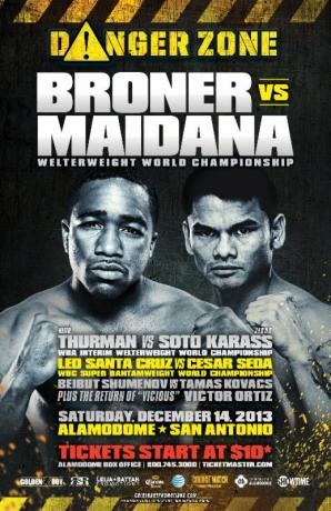 Danger Zone: Adrien Broner vs. Marcos Maidana