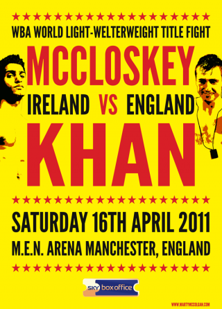 Amir Khan vs Paul McCloskey
