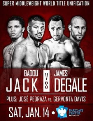Badou Jack vs. James DeGale