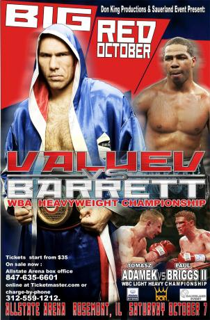 Nikolai Valuev vs Monte Barrett
