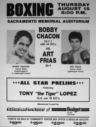 Bobby Chacon vs Arturo Frias