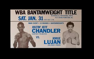 Jeff Chandler vs Jorge Lujan