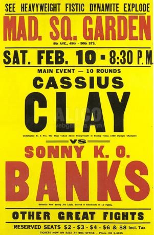 Cassius Clay vs Sonny Banks