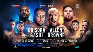 David Allen vs Lucas Browne