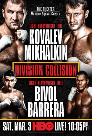Dmitry Bivol vs Sullivan Barrera