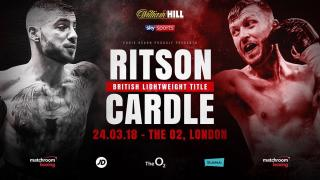 Lewis Ritson vs Scott Cardle