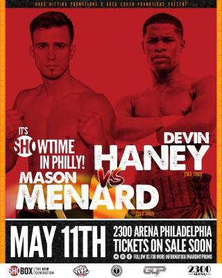 Devin Haney vs Mason Menard