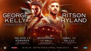 Gavin McDonnell vs Stuart Hall
