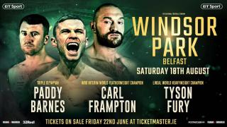 Carl Frampton vs Luke Jackson