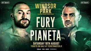 Tyson Fury vs Francesco Pianeta