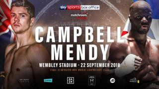 Yvan Mendy vs Luke Campbell II