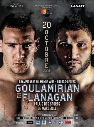 Arsen Goulamirian vs Mark Flanagan
