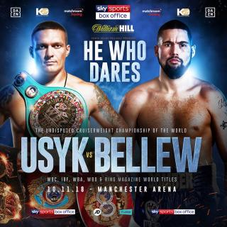 Oleksandr Usyk vs Tony Bellew