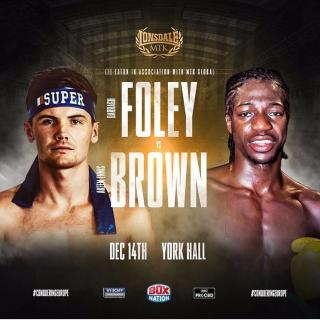 Darragh Foley vs Akeem Ennis Brown