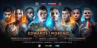 Charlie Edwards vs Angel Moreno