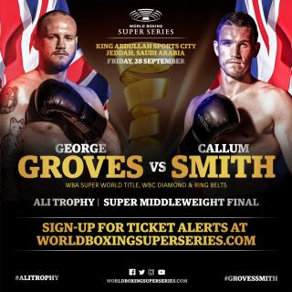 George Groves vs Callum Smith