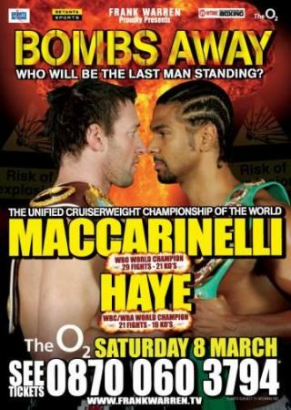 David Haye vs Enzo Maccarinelli