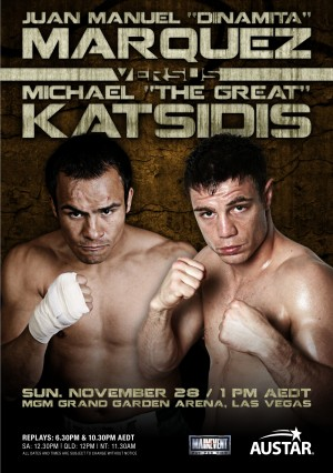 Warriors: Juan Manuel Marquez vs. Michael Katsidis