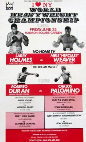 I Love New York: Larry Holmes vs. Mike Weaver