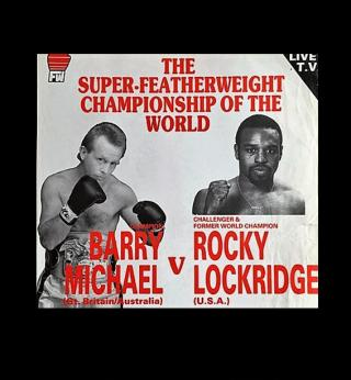 Rocky Lockridge vs Barry Michael