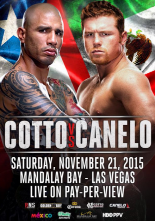 Miguel Cotto vs. Saul Alvarez