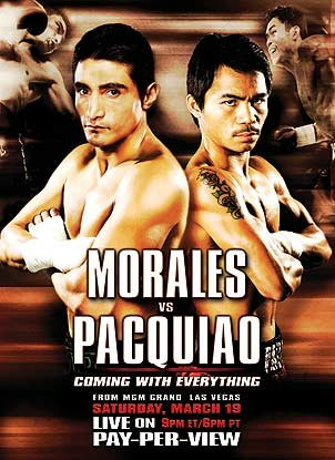 Coming With Everything: Erik Morales vs. Manny Pacquiao I
