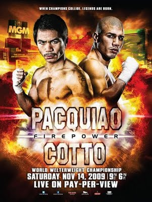 Firepower: Manny Pacquiao vs. Miguel Cotto