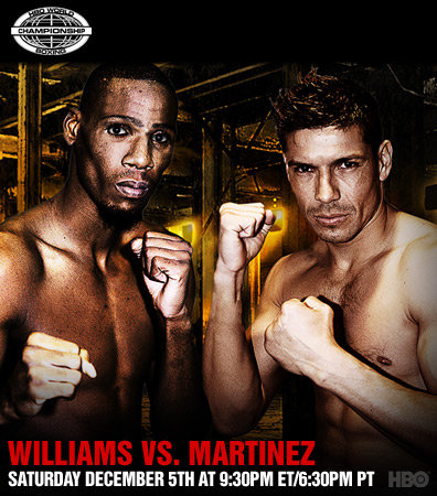 Paul Williams vs. Sergio Martinez I