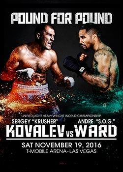 Pound For Pound: Sergey Kovalev vs. Andre Ward I