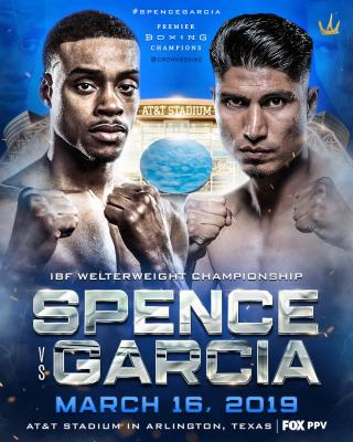 Errol Spence Jr vs Mikey Garcia