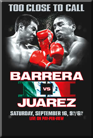 Too Close To Call: Marco Antonio Barrera vs. Rocky Juarez II