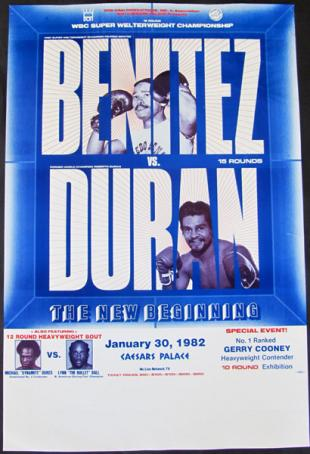 The New Beginning: Wilfred Benitez vs. Roberto Duran