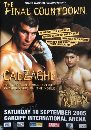 The Final Countdown: Joe Calzaghe vs. Evans Ashira