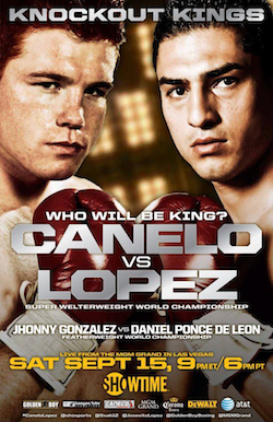 Knockout Kings: Saul Alvarez vs. Josesito Lopez