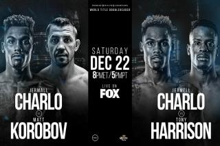 Jermell Charlo vs Tony Harrison