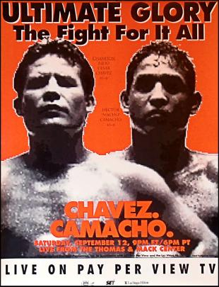 Ultimate Glory: Julio Cesar Chavez vs. Hector Camacho