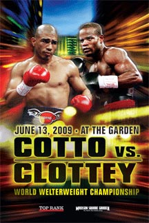 Knockout Power: Miguel Cotto vs. Joshua Clottey